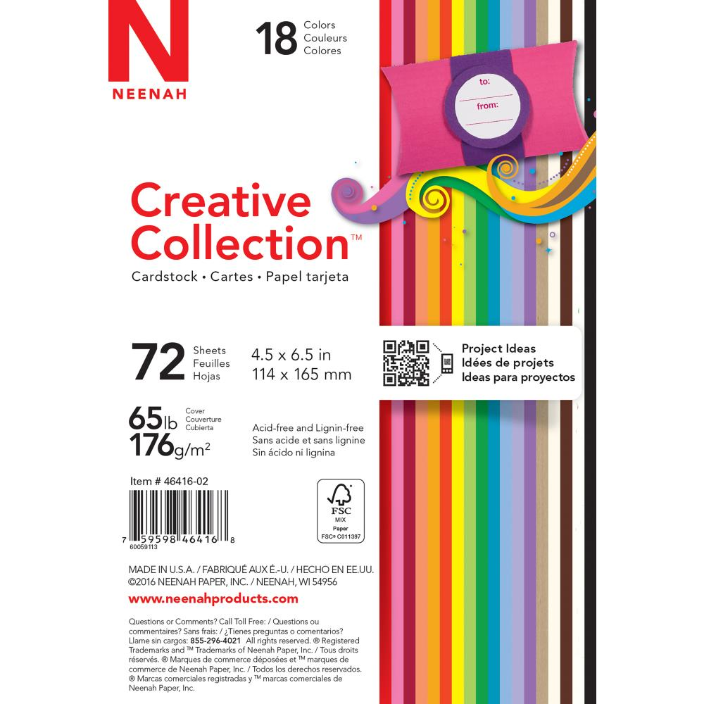 "Creative Collection Bold Cardstock 4.5"" x 6.5"""