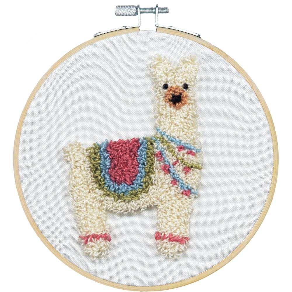Dimensions Llama Punch Needle Kit