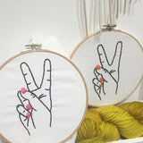 Beginner Embroidery (Peace)