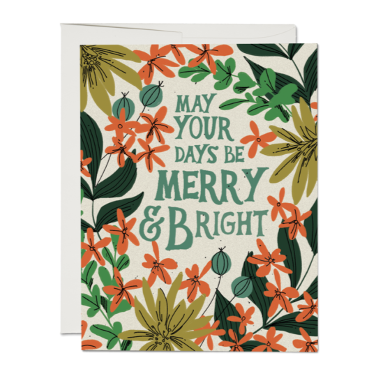 May Your Days Card