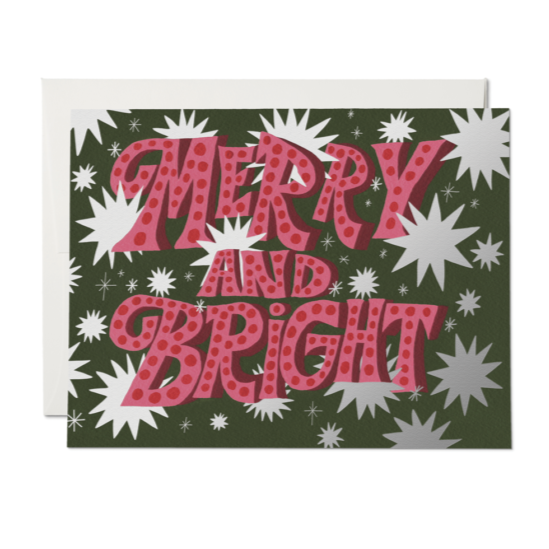 Sparkling Merry & Bright Card