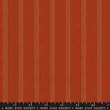 Warp & Weft Stitch by Ruby Star Society in Cayenne