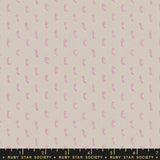 Warp & Weft Flicker by Ruby Star Society in Pink