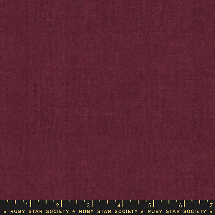 Warp & Weft Cross Weave by Ruby Star Society in Wine Time
