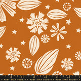 Golden Hour Zinnia by Ruby Star Society in Saddle
