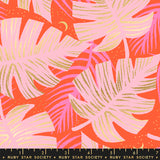 Florida Shade Palms by Ruby Star Society in Metallic Fire