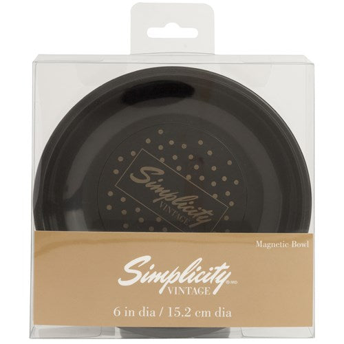 Simplicity Magnetic Bowl - Black