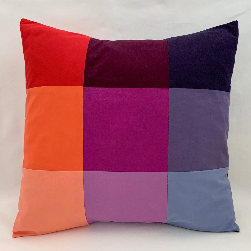 VIRTUAL WORKSHOP: Patchwork Pillow