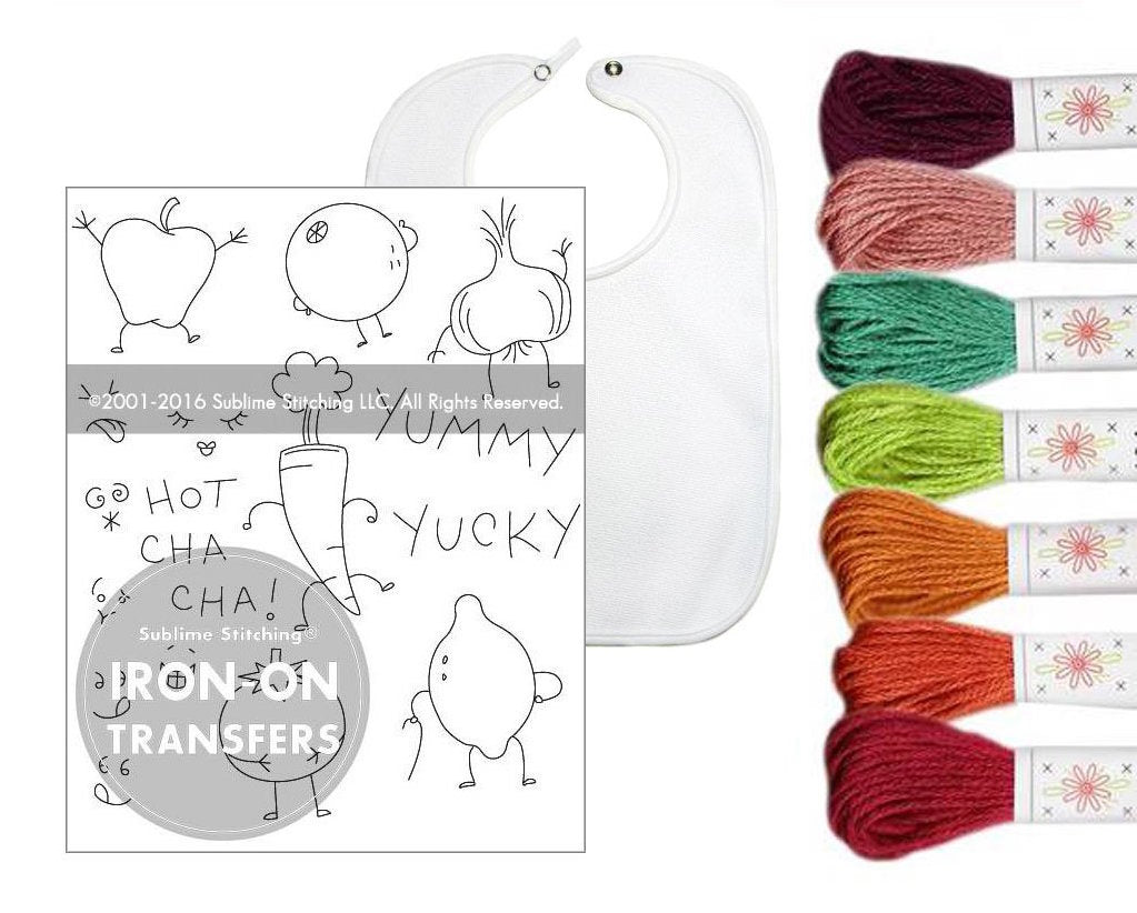 Baby Bib Embroidery Kit
