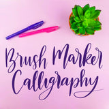 Brush Marker Calligraphy