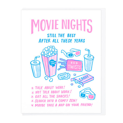 Movie Nights Card