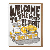 welcome lil nugget card lucky horse press