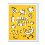 Hello Little Baby Card