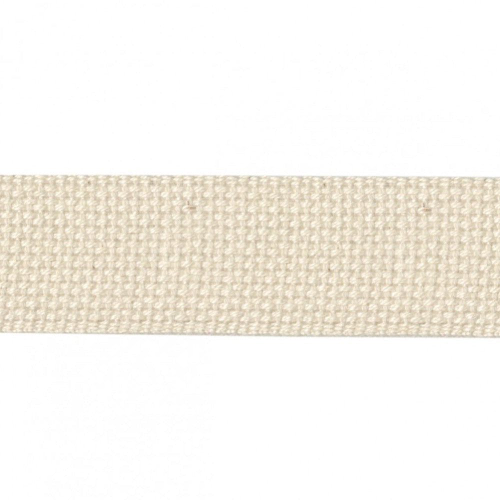 "1.5"" Cotton Webbing - Natural"