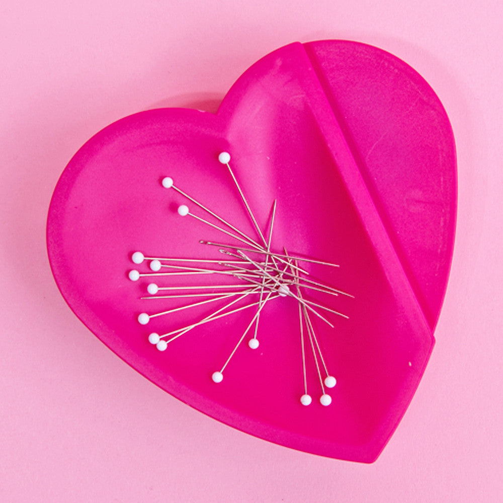 Magnetic Heart Pin Cushion