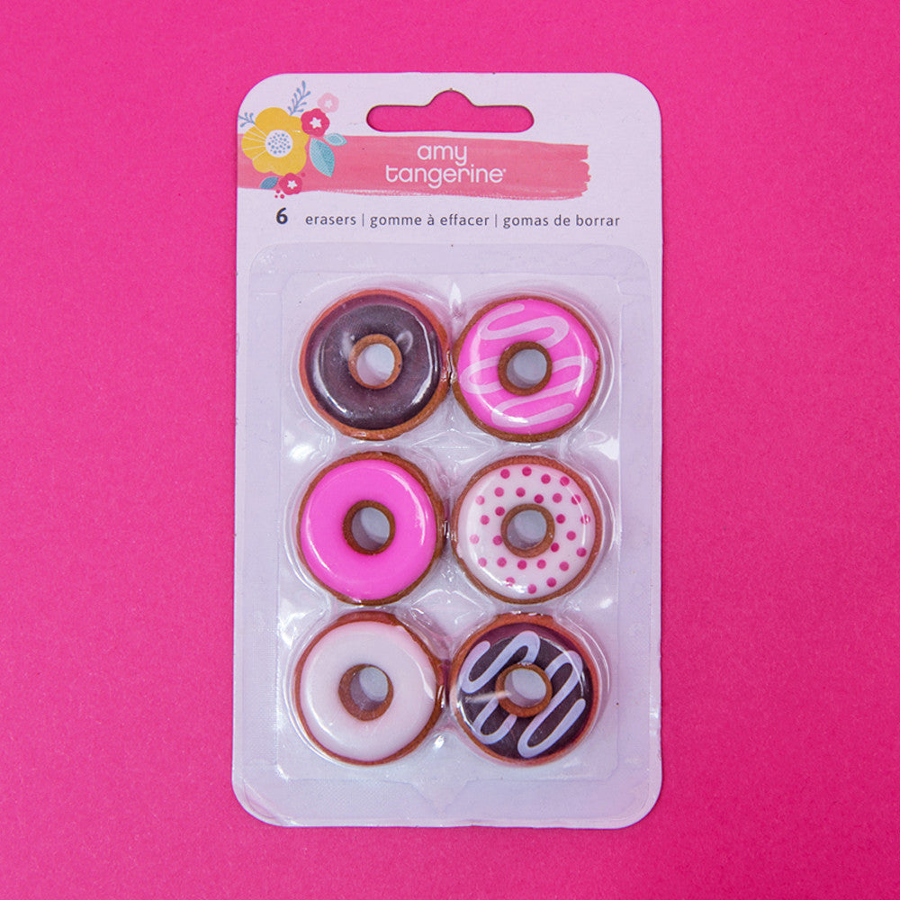 Oh Happy Life Donut Erasers