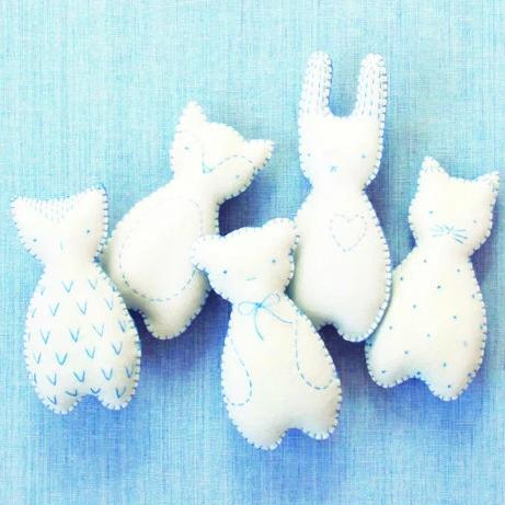 Little Pocket Pals Kit in Blue