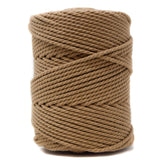 Recycled Cotton Macrame Rope 3 mm - Sand