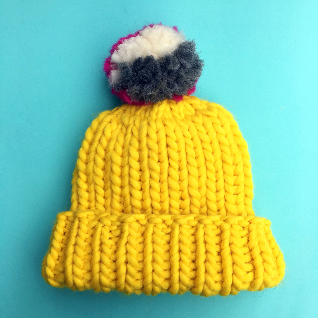 FREE! The Everyone Hat Knitting Pattern
