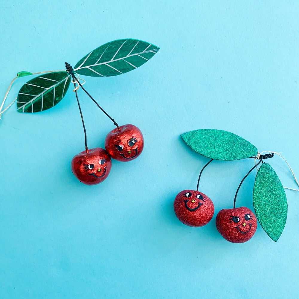 Jolly Cherries Ornament