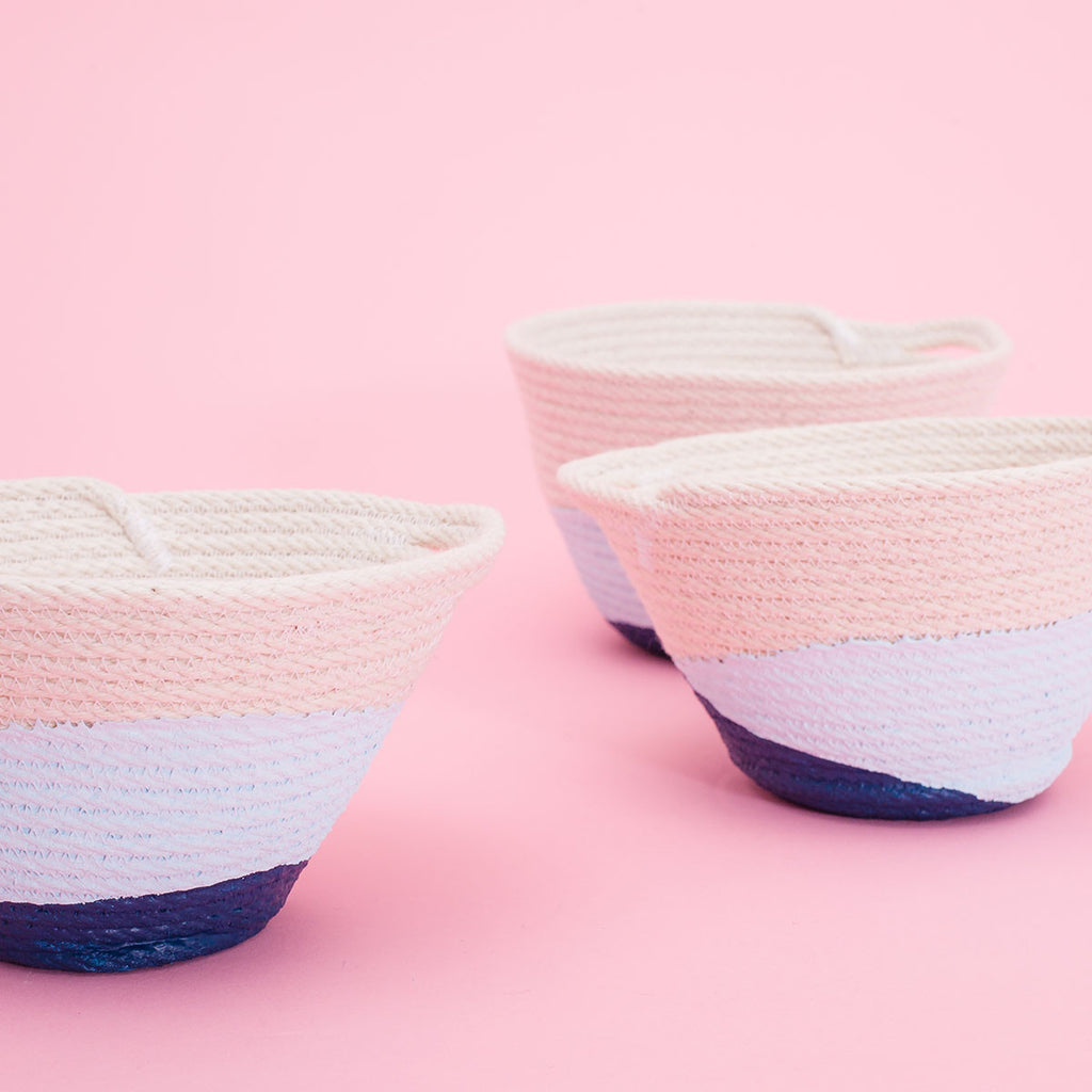 Sew a Rope Bowl