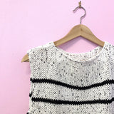 knit striped summer top