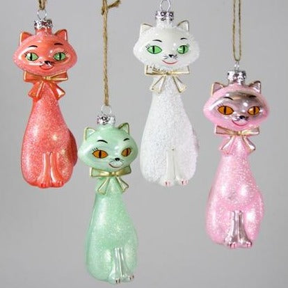 Kitschy Kitten Ornament