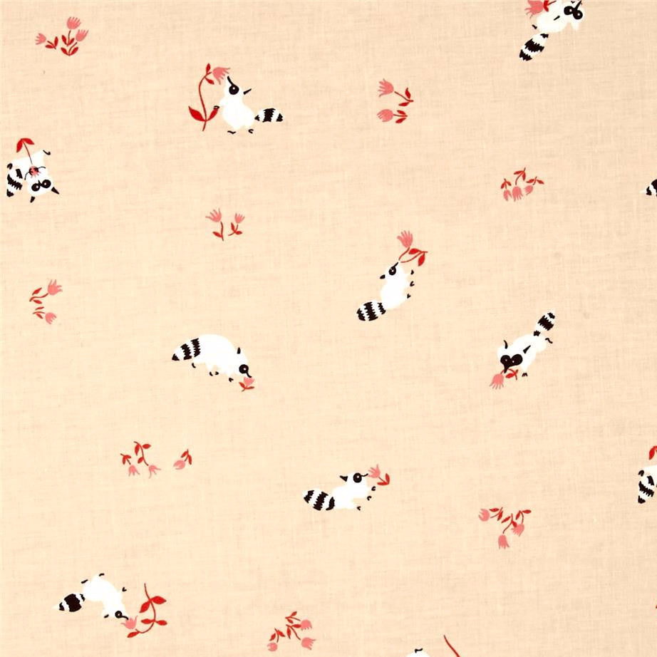 Yours Truly Tanuki by Cotton + Steel in Peach