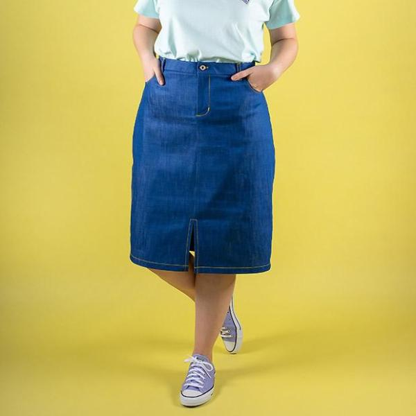 Sew a Denim Skirt