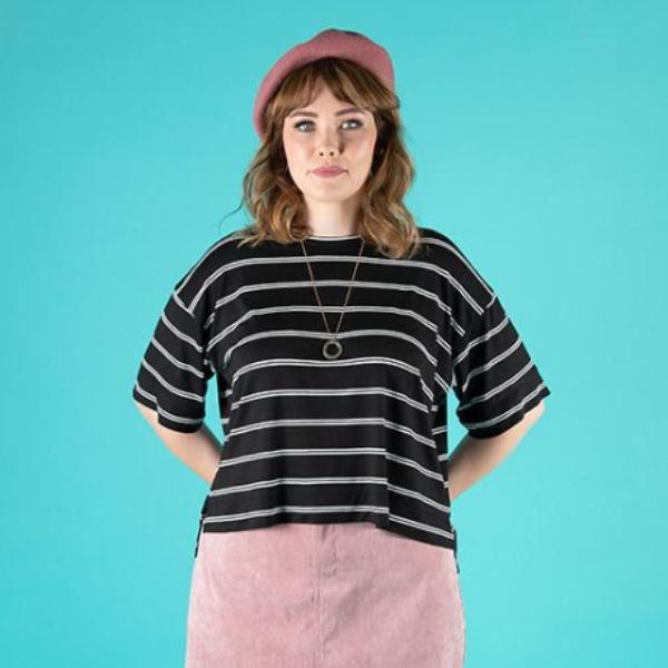 Sew Stretchy Knits: Nora Top