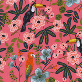 Menagerie Paradise Garden Coral by Cotton + Steel