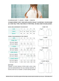 Elementary T-Shirt, Tank, and Dress Pattern