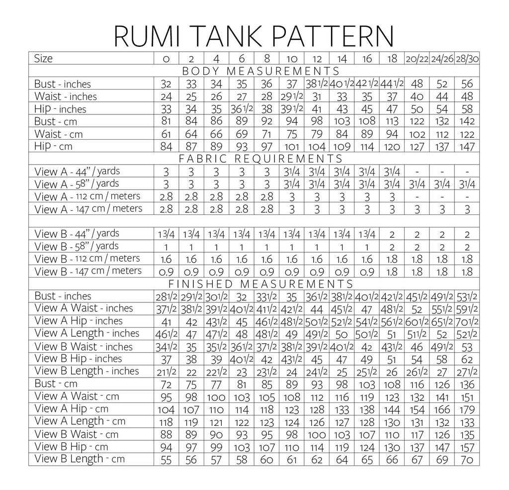 VIRTUAL WORKSHOP: Sew Stretchy Knits - Rumi Tank
