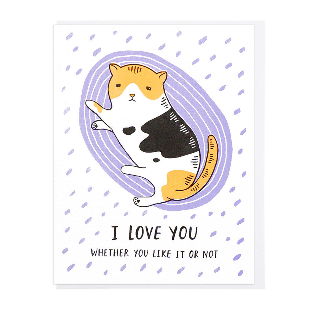 I Love You Cat Card