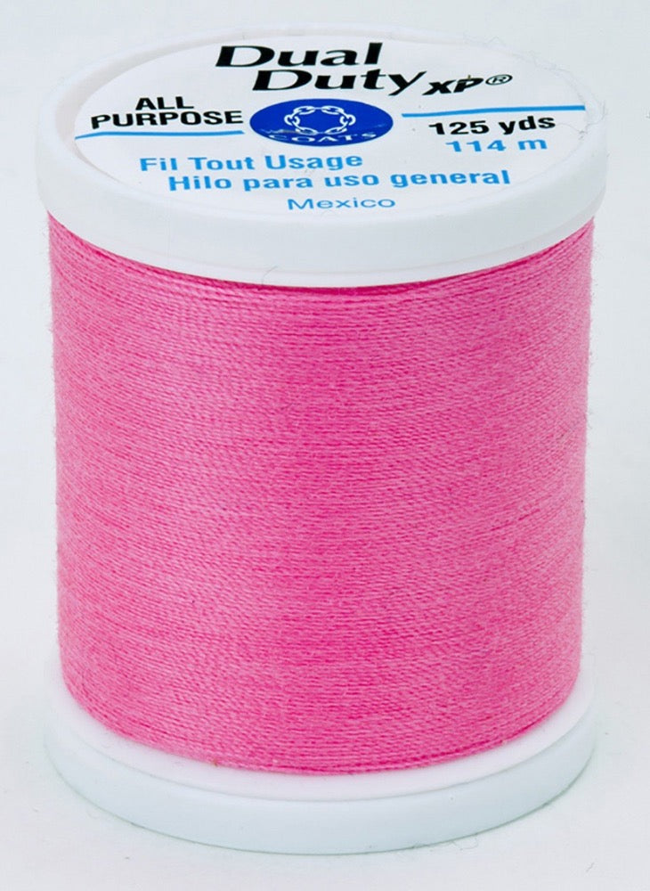 Dual Duty XP All Purpose Thread #9213 Neon Pink