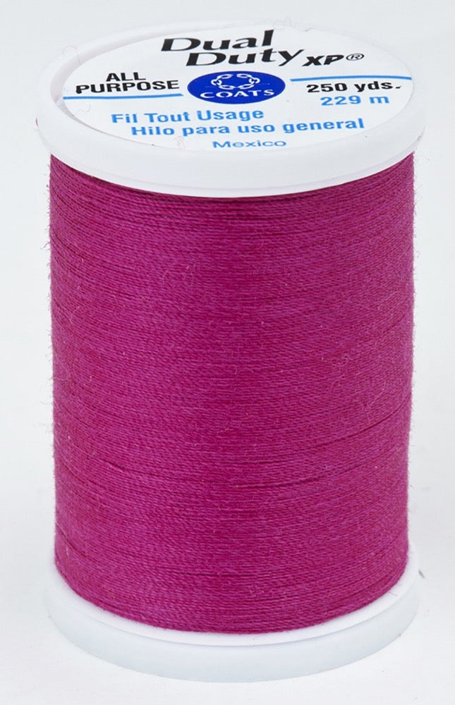 Dual Duty XP All Purpose Thread #3040 Red Rose