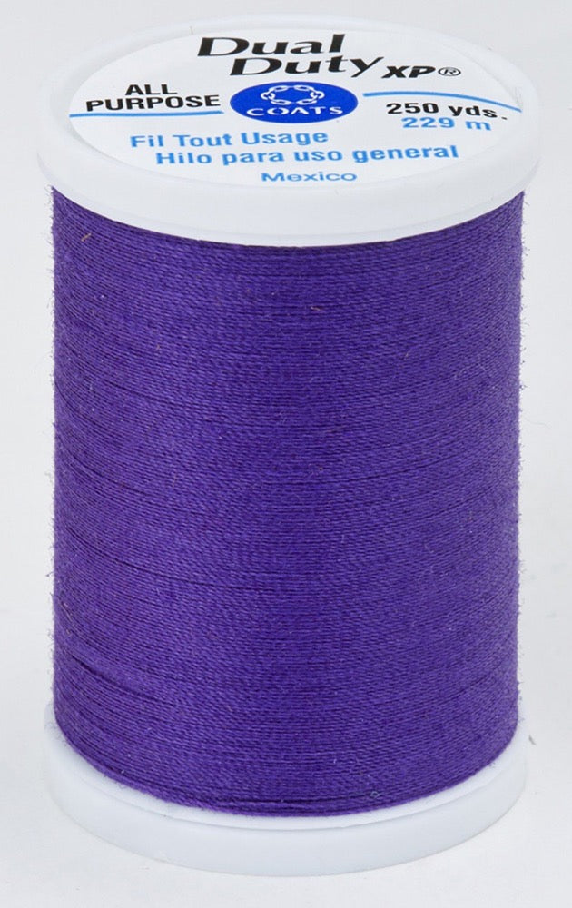 Dual Duty XP All Purpose Thread #3660 Deep Violet