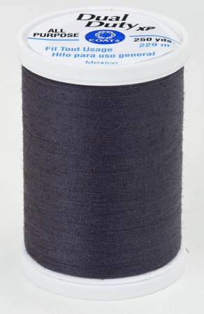 Dual Duty XP All Purpose Thread #4920 Gunmetal Navy