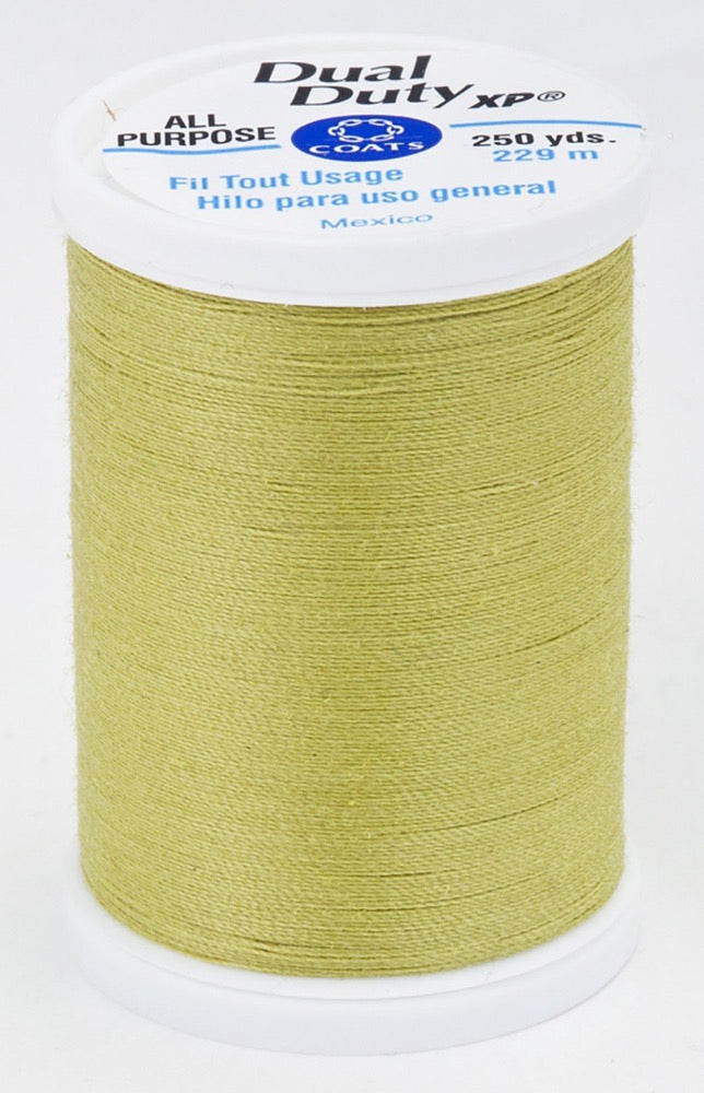 Dual Duty XP All Purpose Thread #6320 Light Olive
