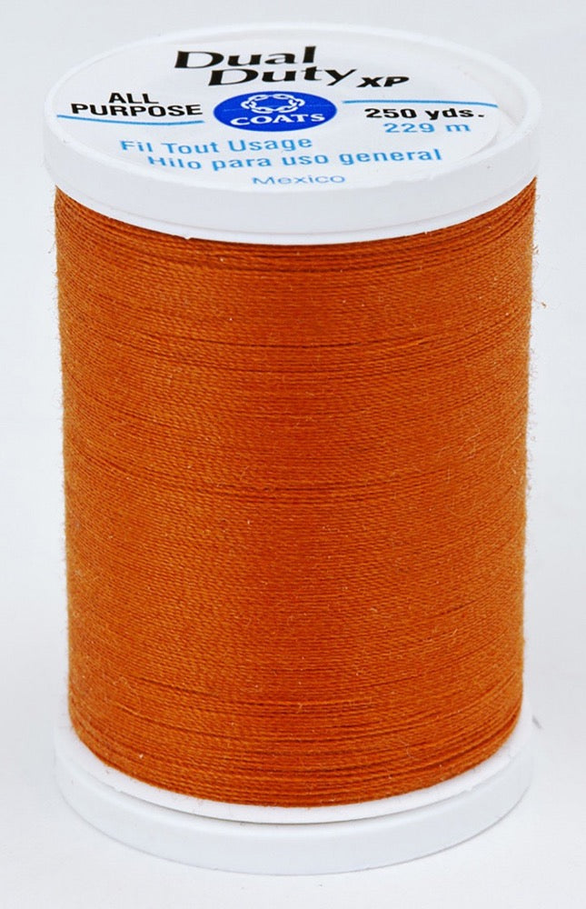 Dual Duty XP All Purpose Thread #7670 Burnt Orange