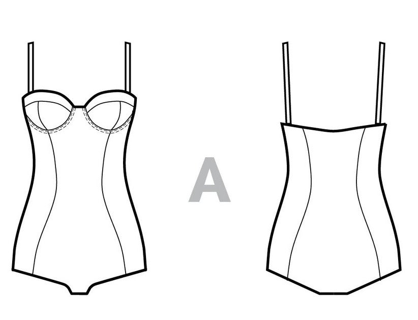 VIRTUAL WORKSHOP: Sew a Sophie Swimsuit (One Piece)