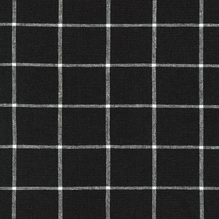 Essex Yarn Dyed Classic Wovens Checkerboard in Black/White