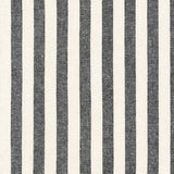 Essex Yarn Dyed Classic Wovens Stripes in Black/White