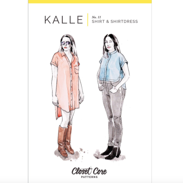 Kalle Shirt & Shirtdress Pattern