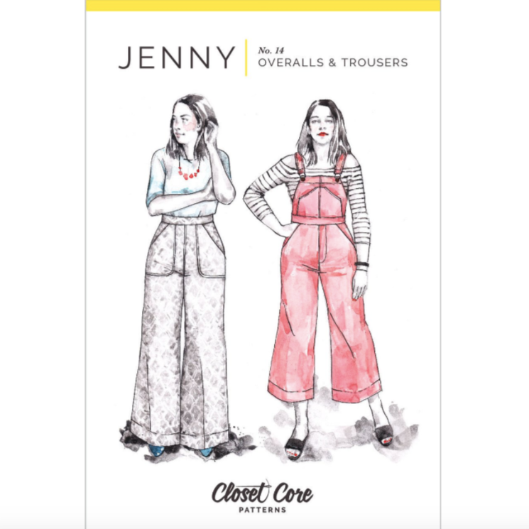 Jenny Overalls & Trousers Pattern