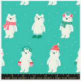 Flurry Snow Bears by Ruby Star Society in Icebox
