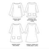 Coco Shirt + Dress Pattern