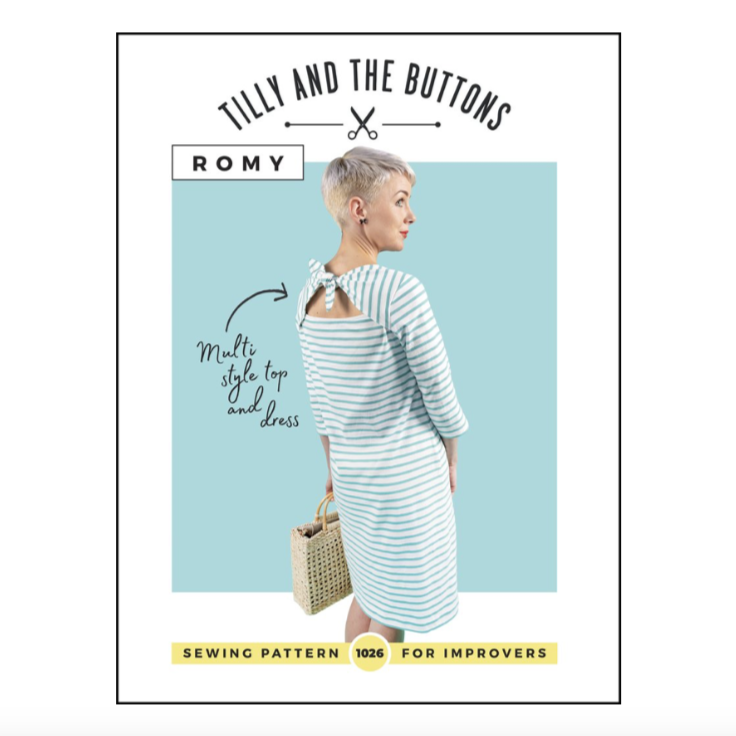 Romy Top and Dress Pattern