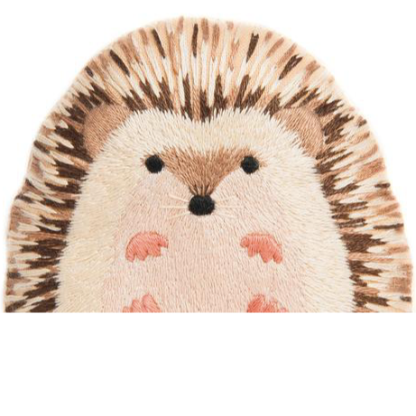 DIY Embroidered Doll Starter Kit - Hedgehog