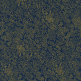 Menagerie Champagne by Cotton + Steel in Navy Metallic